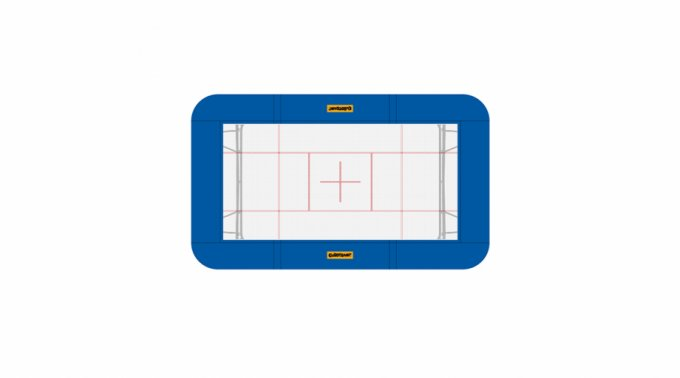 Frame pads - complete set - 32 mm